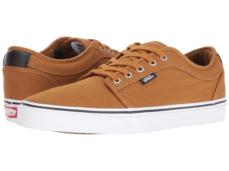 Vans - Chukka Low ((Flannel) Golden Brown/Black) Mens Skate Shoes