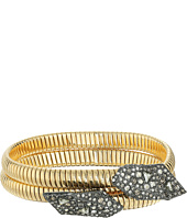 Alexis Bittar - Crystal Encrusted Coiled Origami Bracelet
