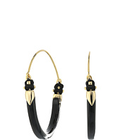 Alexis Bittar - Leather Accented Hoop Bracelet