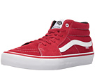 Sk8-Mid Pro (Scarlet/White)