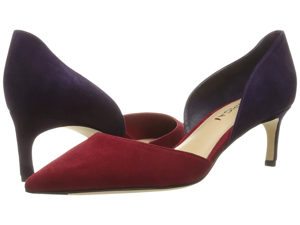 Via Spiga - Ava (Red/Purple Kid Suede Leather) Women