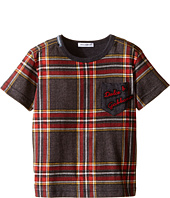 Dolce & Gabbana Kids - Back to School Tartan T-Shirt (Toddler/Little Kids)
