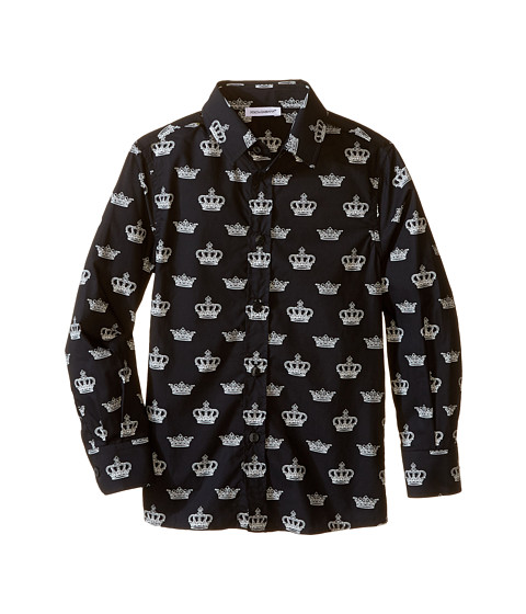 Dolce & Gabbana Kids City Crown Print Shirt (Toddler/Little Kids)