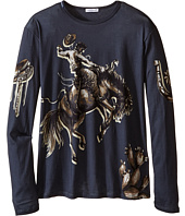Dolce & Gabbana Kids - City Rodeo Cavallo T-Shirt (Big Kids)