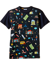 Dolce & Gabbana Kids - Back to School Printed T-Shirt (Big Kids)