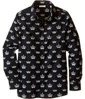 Dolce & Gabbana Kids - City Crown Print Shirt (Big Kids)