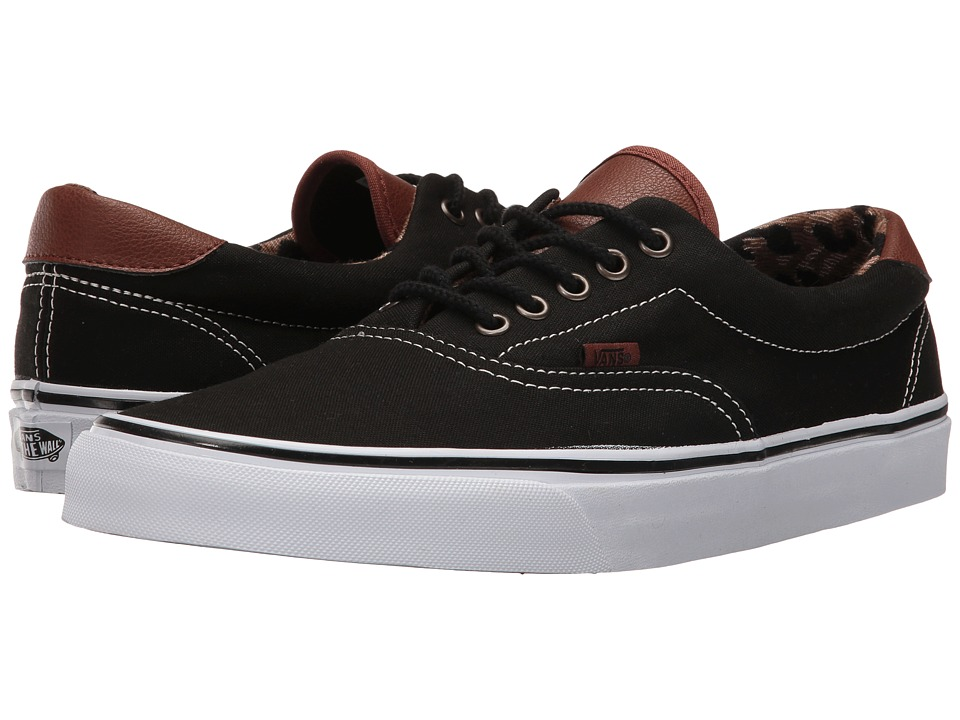 Vans Era 59 ((C&L) Black/Italian Weave) Skate Shoes
