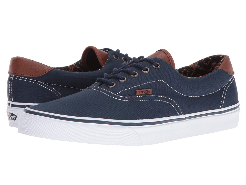 Vans Era 59 ((C&L) Dress Blues/Italian Weave) Skate Shoes
