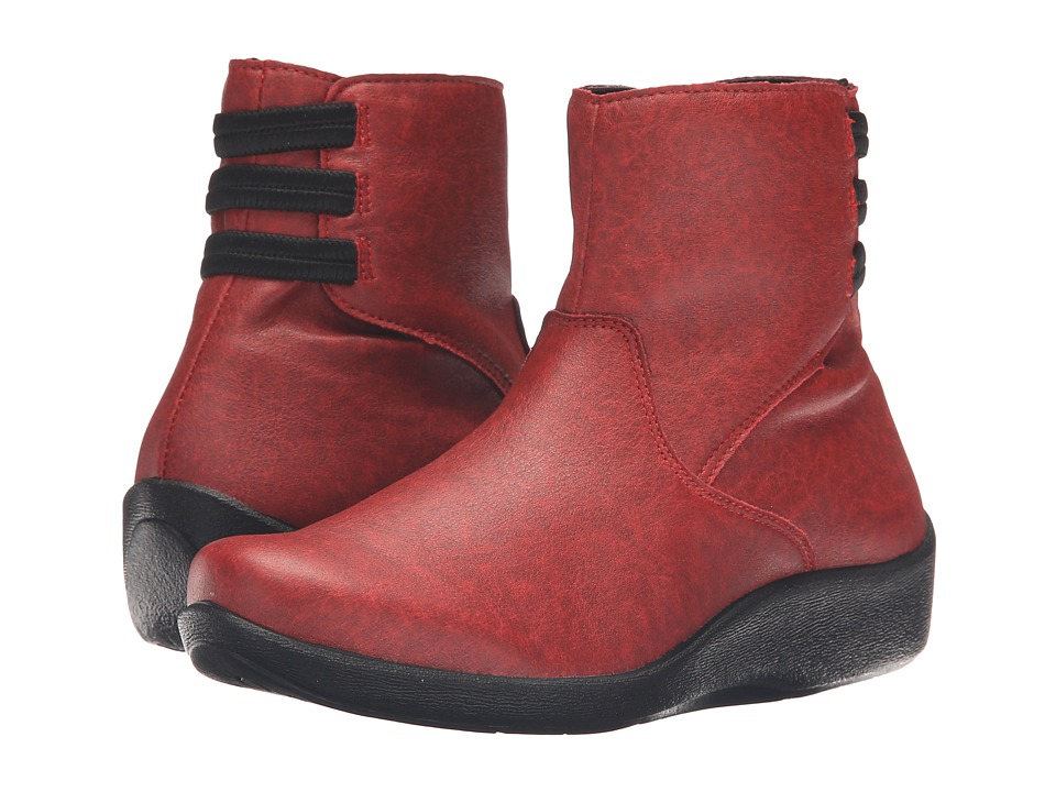 Arcopedico - Mitrus (Cherry Red) Women