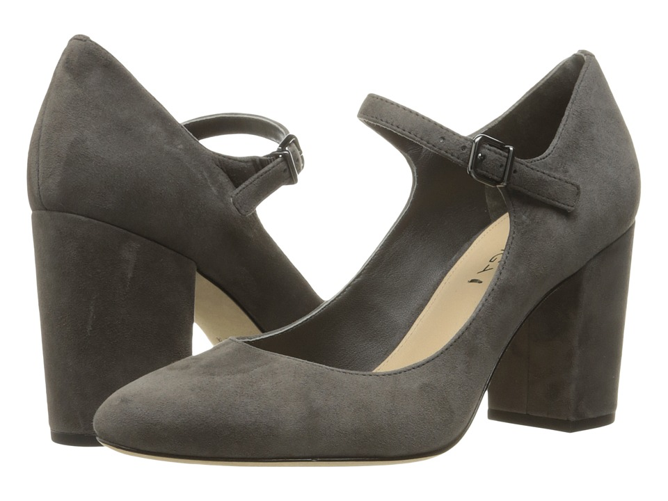 Via Spiga - Deanna (Steel Kid Suede Leather) High Heels