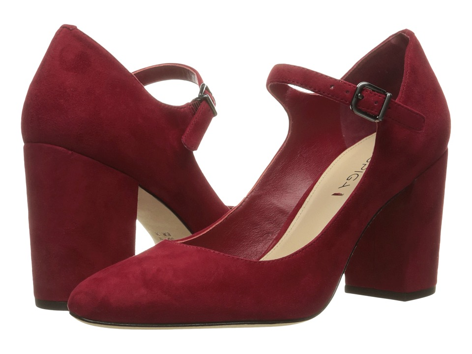 Via Spiga - Deanna (Rich Poppy Kid Suede Leather) High Heels