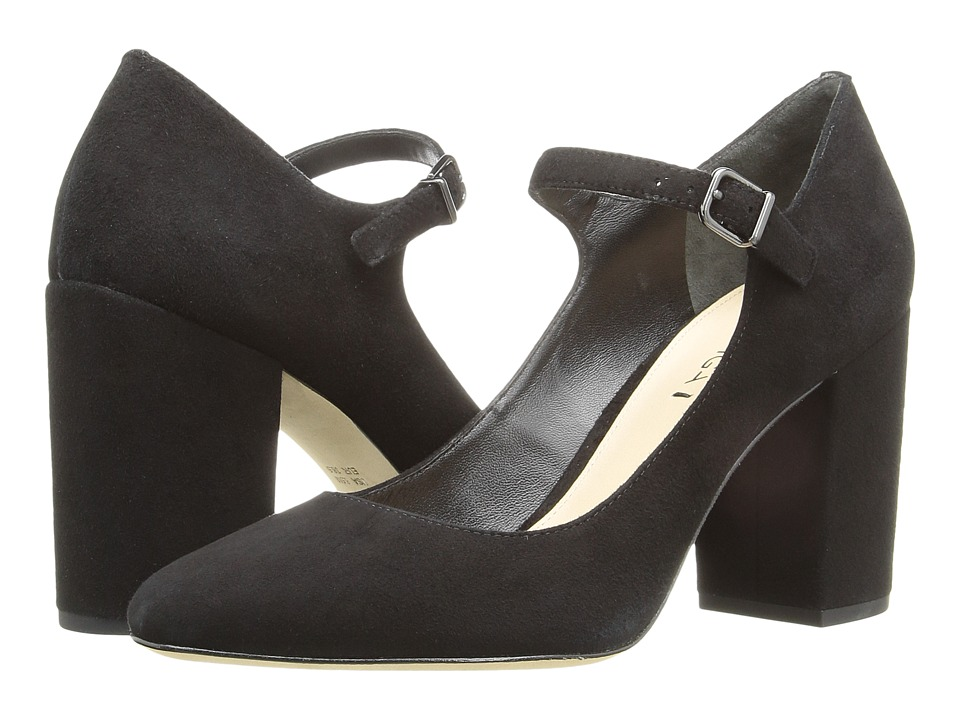 Via Spiga - Deanna (Black Kid Suede Leather) High Heels