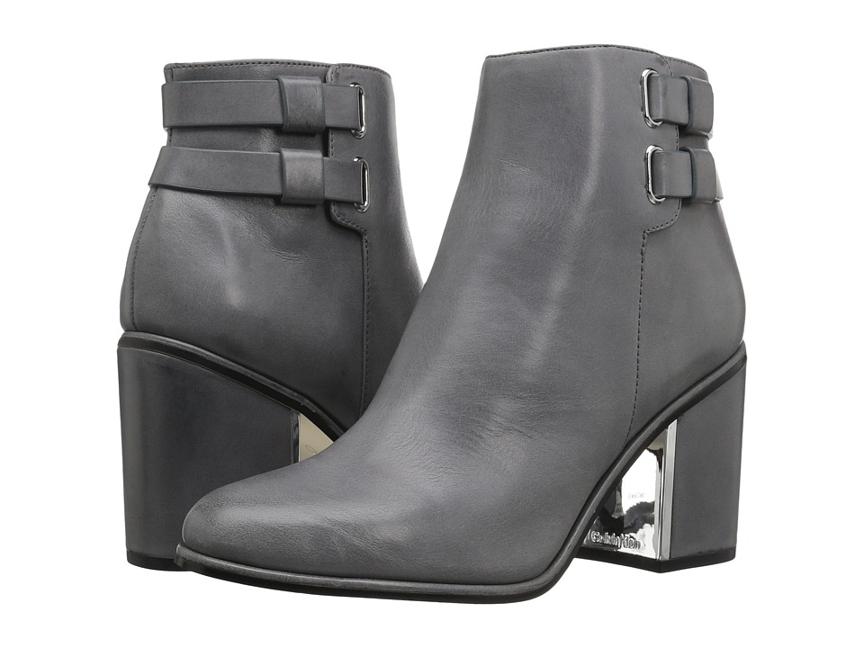 Calvin Klein - Cait (Shadow Grey Leather) Women