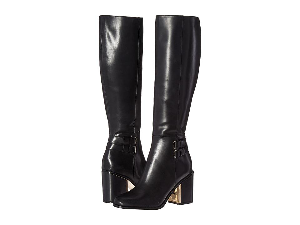 Calvin Klein Camie (Black Leather) Women