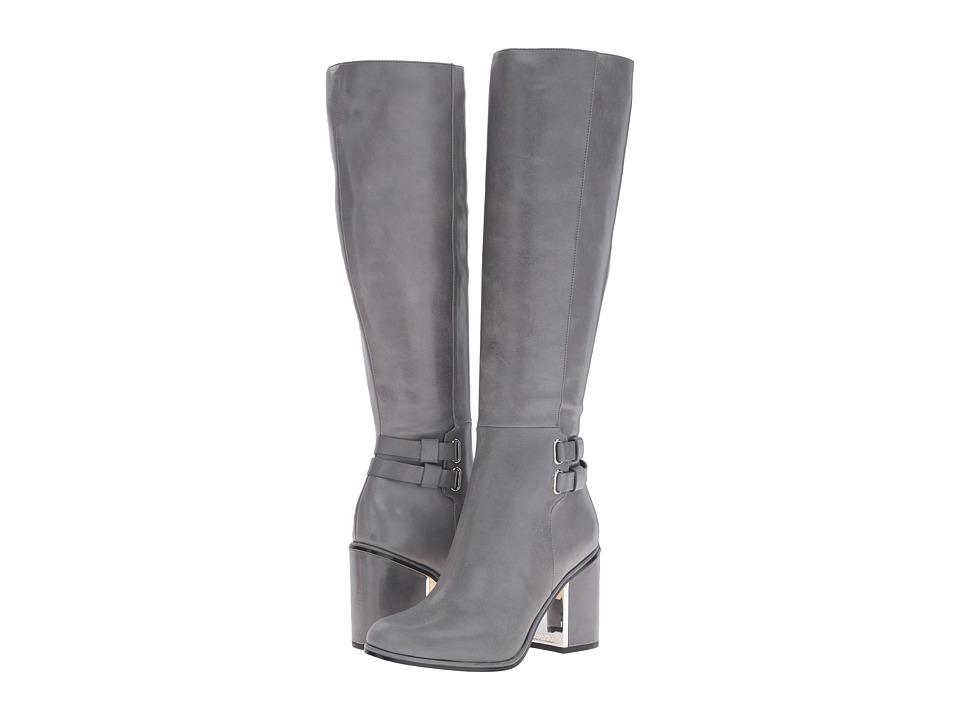 Calvin Klein Camie (Shadow Grey Leather) Women