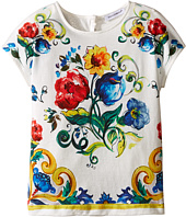 Dolce & Gabbana Kids - Escape Maiolica Bouquet T-Shirt (Toddler/Little Kids)