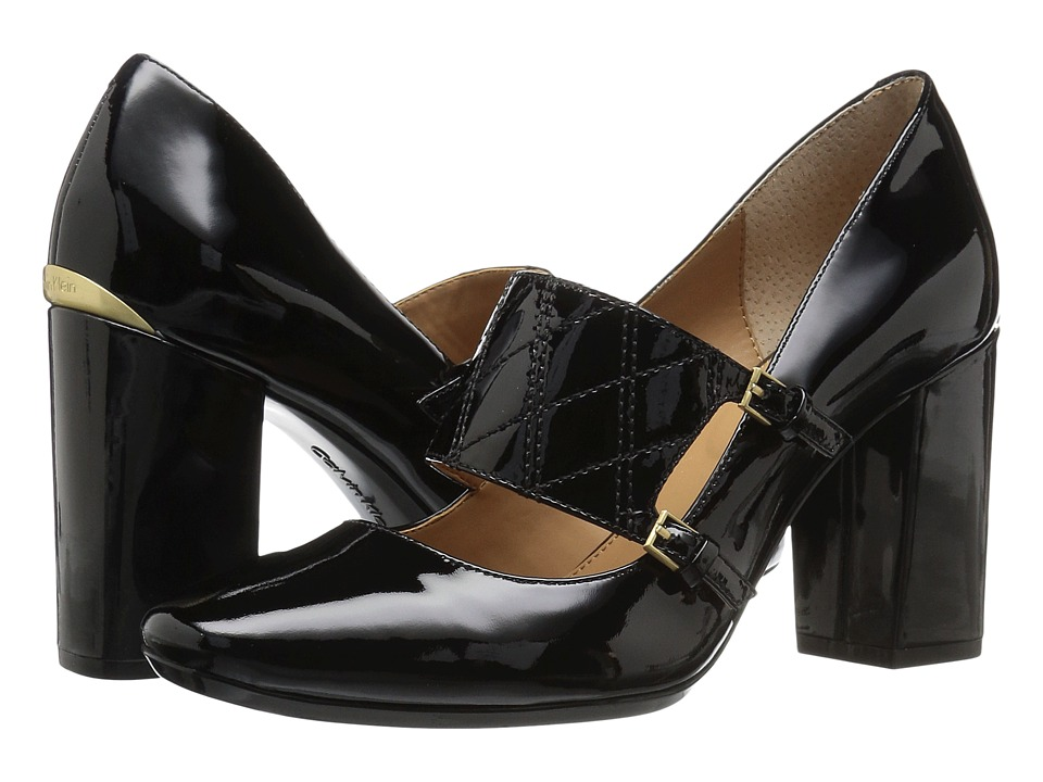 Calvin Klein - Casilla (Black Patent) Women