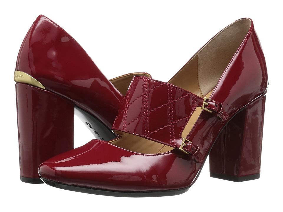 Calvin Klein - Casilla (Garnet Patent) Women