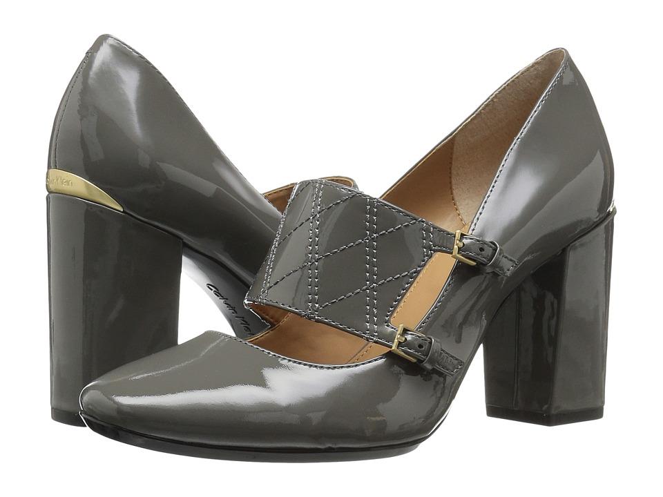 Calvin Klein - Casilla (Shadow Grey Patent) Women