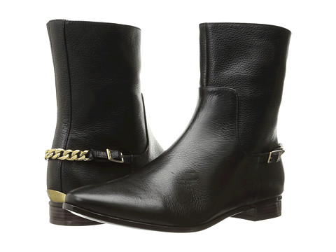 Calvin Klein Finius - Black Waxy Tumbled Leather