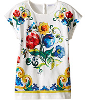 Dolce & Gabbana Kids - Escape Maiolica Bouquet T-Shirt (Big Kids)