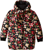 Dolce & Gabbana Kids - Back to School Floral Nylon Coat (Big Kids)