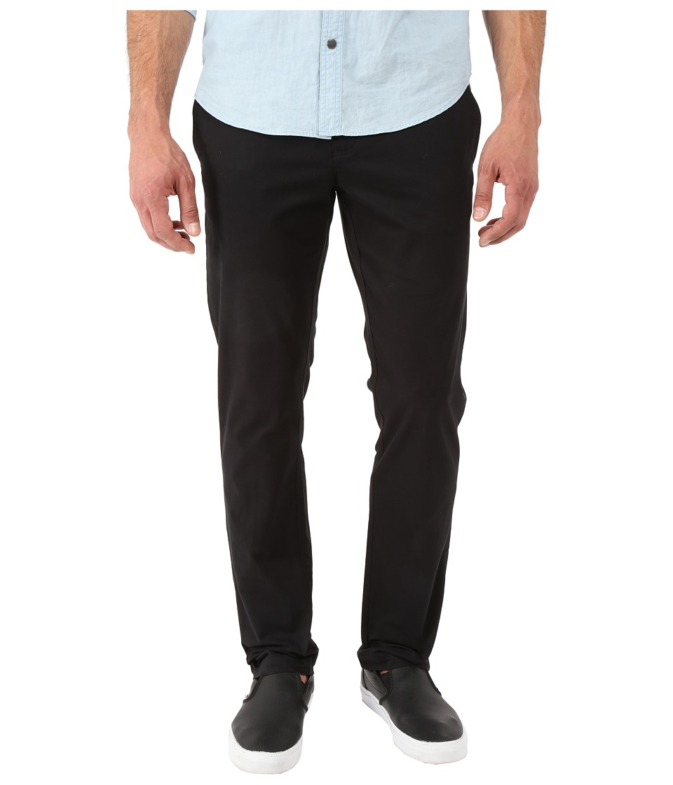 Original Penguin - P55 Slim Stretch Chino Slim Fit (True Black) Mens Casual Pants