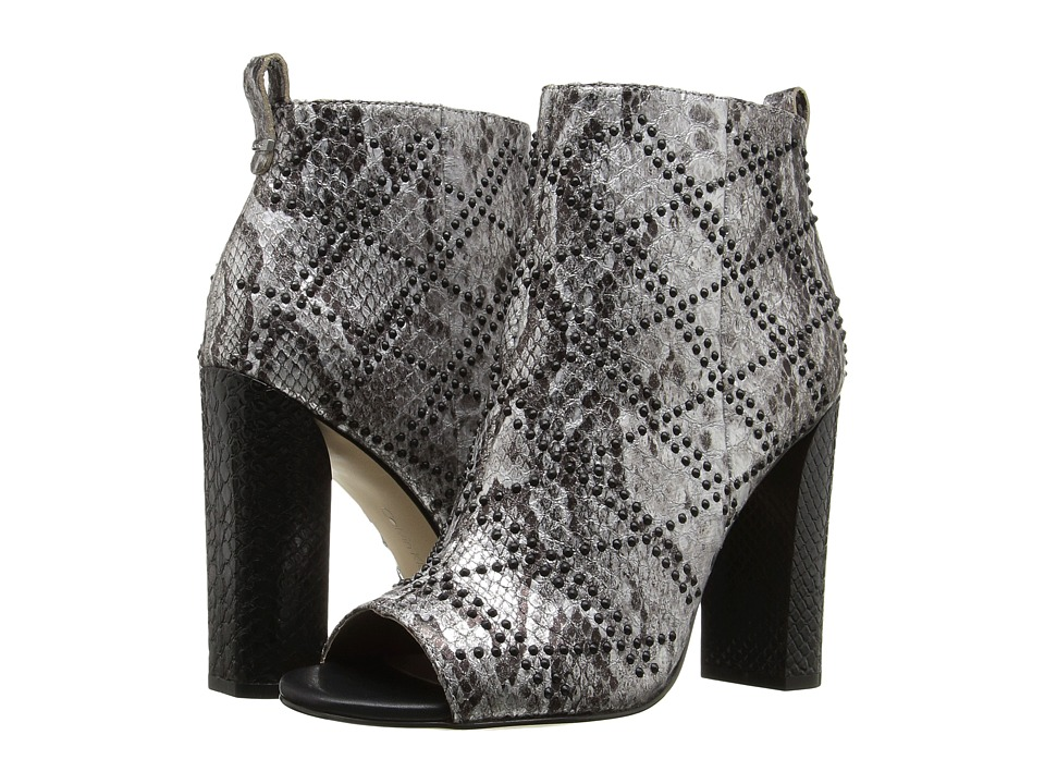Calvin Klein - Jules (Silver Foiled Snake Print Leather) Women