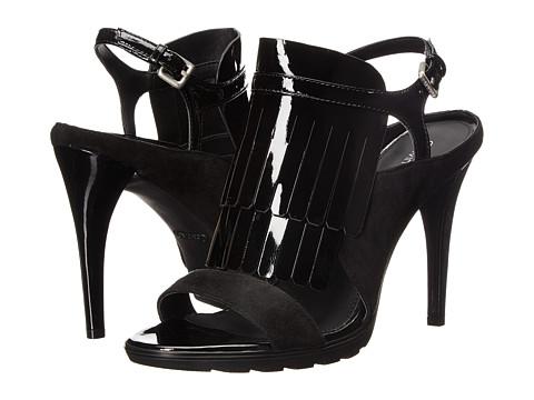 Calvin Klein Marin - Black Suede/Patent