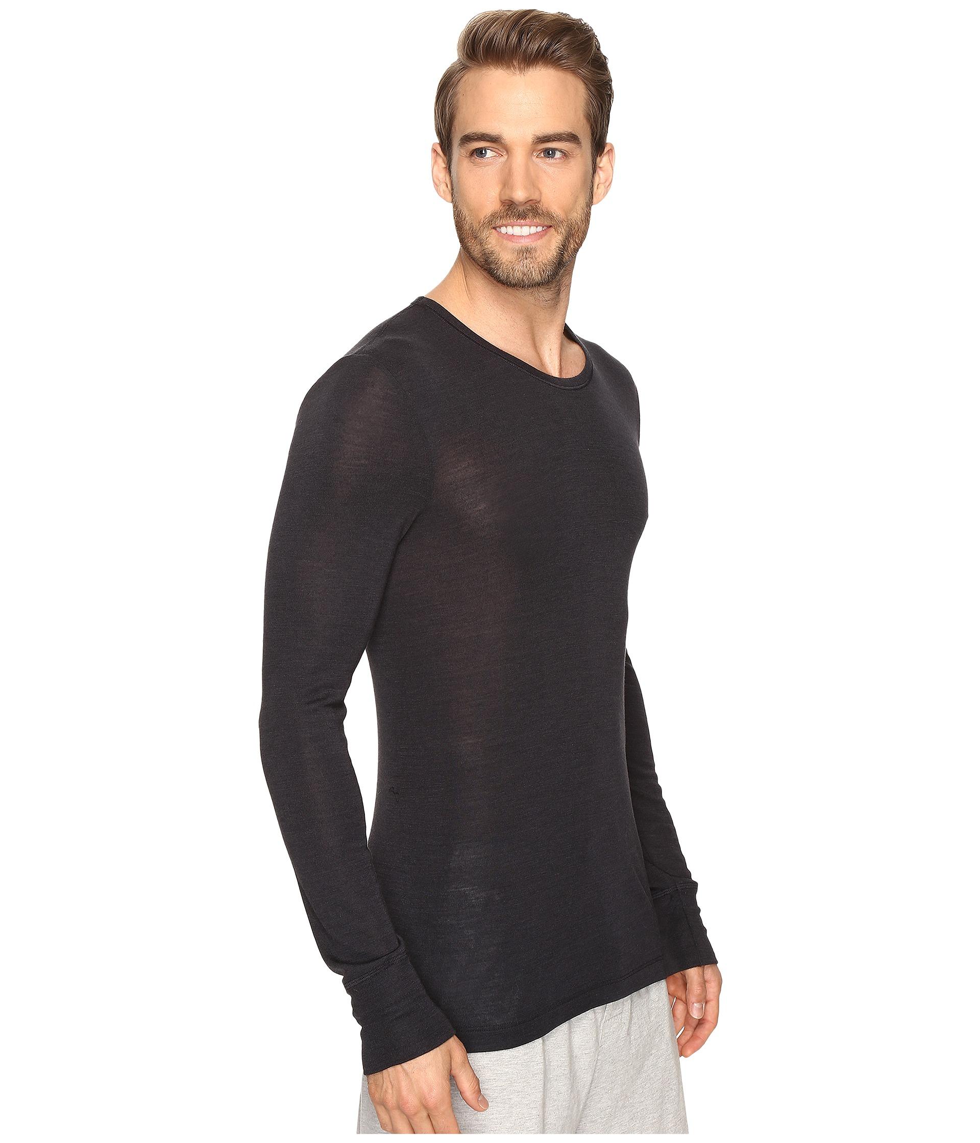Hanro woolen silk long sleeve shirt free for Silk long sleeve shirt