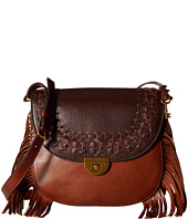 Fossil - Emi Fringe Large Saddle Bag