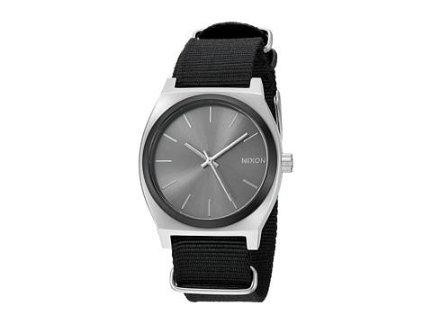 Nixon The Time Teller X Nato Collection - Gunmetal Sunray/Black