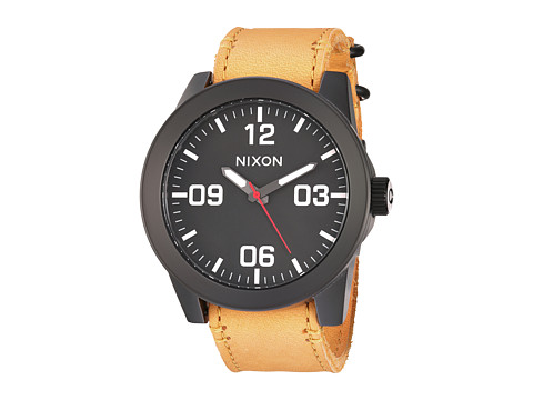 Nixon Corporal X Mountain Dweller Collection - All Black/Goldenrod