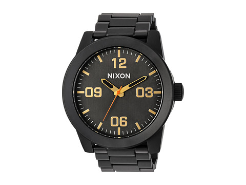 Nixon The Corporal SS X Sport Lux Collection - All Black/Surplus