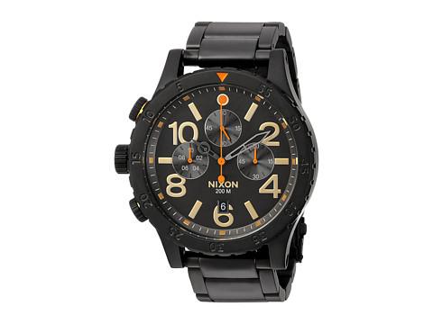 Nixon The 48-20 Chrono X Sport Lux Collection - All Black/Surplus