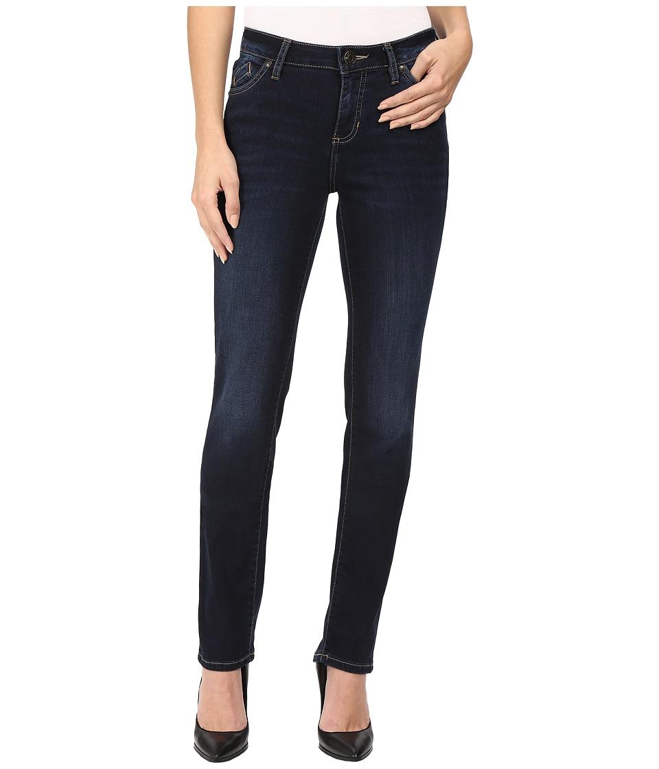 Jag Jeans Portia Straight Platinum Denim in Indio (Indio) Women