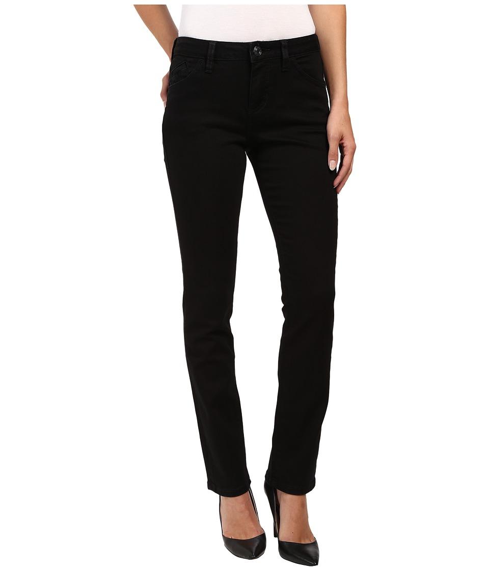 Jag Jeans Portia Straight Platinum Denim in Black (Black) Women