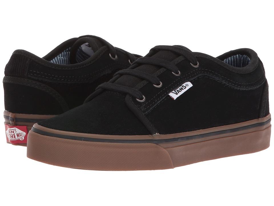 Vans Kids - Chukka Low (Little Kid/Big Kid) ((Work Wear) Black/Gum) Boys Shoes