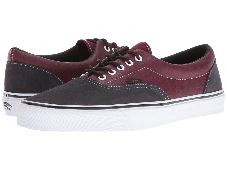 Vans Era ((Suede + Leather) Port Royale/Asphalt) Skate Shoes