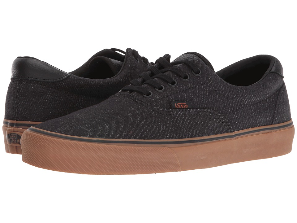 Vans Era 59 ((Denim C&L) Black/Gum) Skate Shoes
