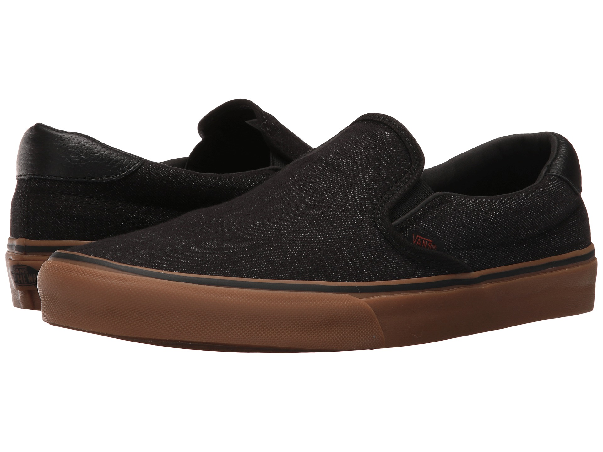 vans slip on 59 denim c l black free. Black Bedroom Furniture Sets. Home Design Ideas