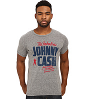 The Original Retro Brand - Johnny Cash Short Sleeve Tri-Blend Tee