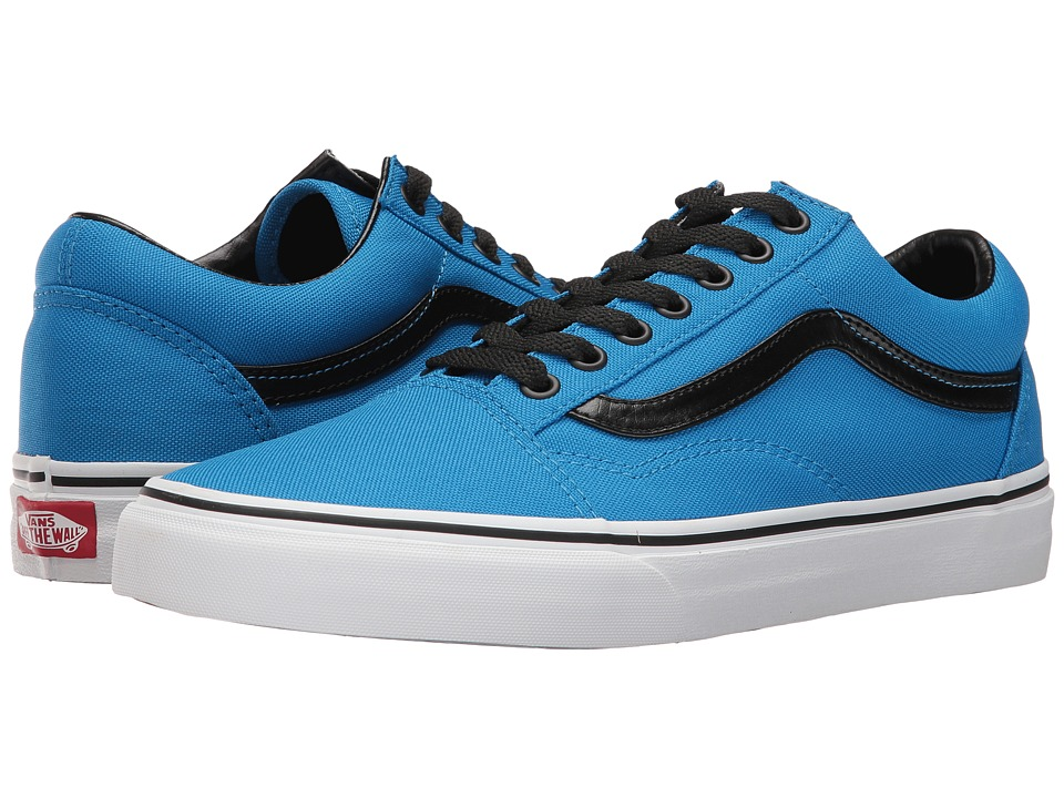 Vans Old Skool ((Brite) Neon Blue/Black) Skate Shoes