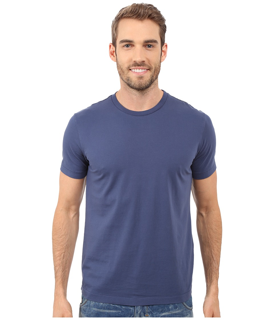 Mod-o-doc - San Onofre Short Sleeve Crew (New Navy) Mens Clothing