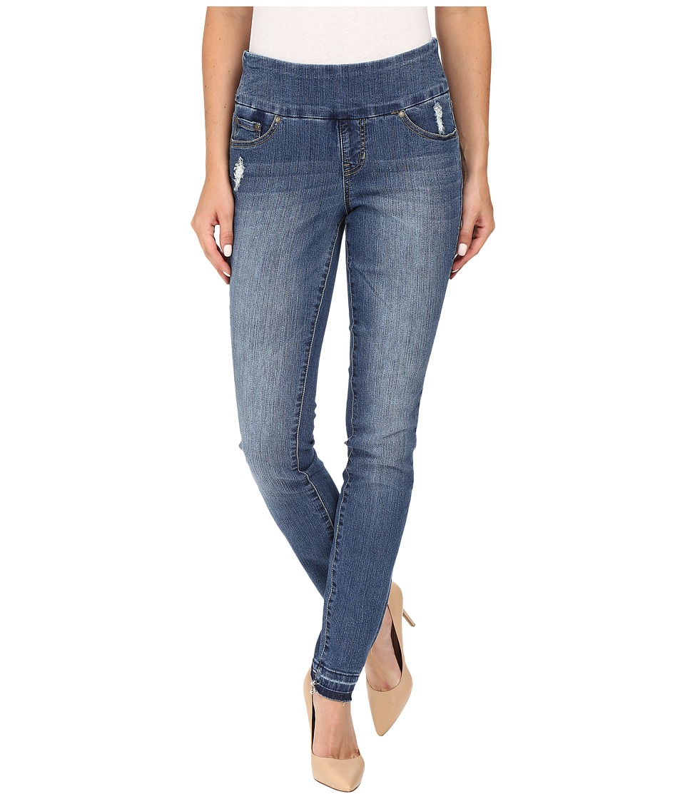 Jag Jeans Nora Pull-On Skinny Comfort Denim in Weathered Blue (Weathered Blue) Women