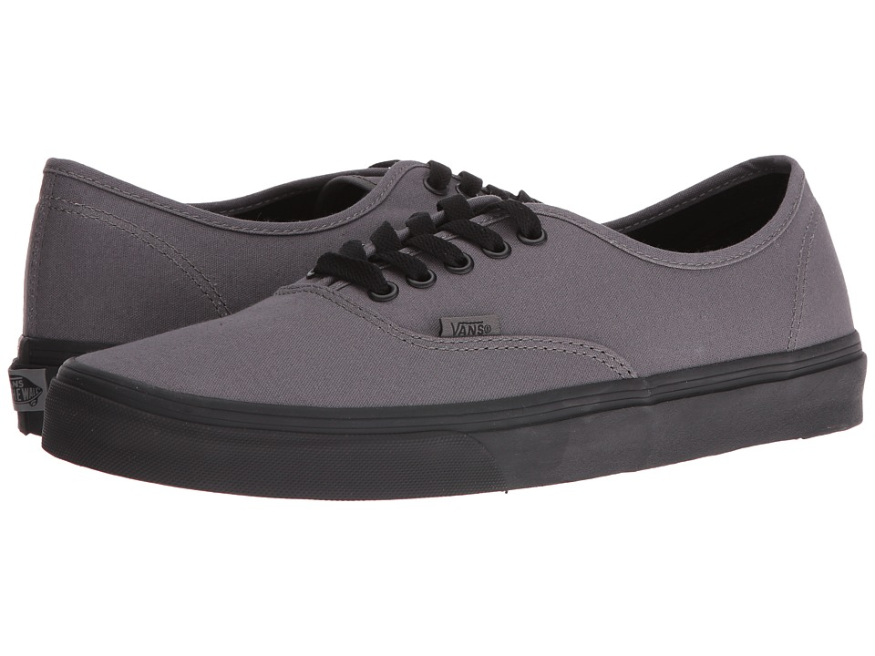 Vans Authentic ((Pop Outsole) Pewter/Black) Skate Shoes