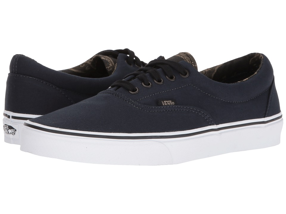 Vans Era ((Vintage Camo) Dark Navy/Black) Skate Shoes