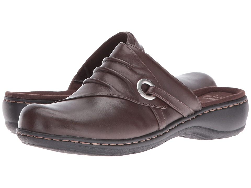 Clarks Leisa Bliss (Brown) Women's  Shoes