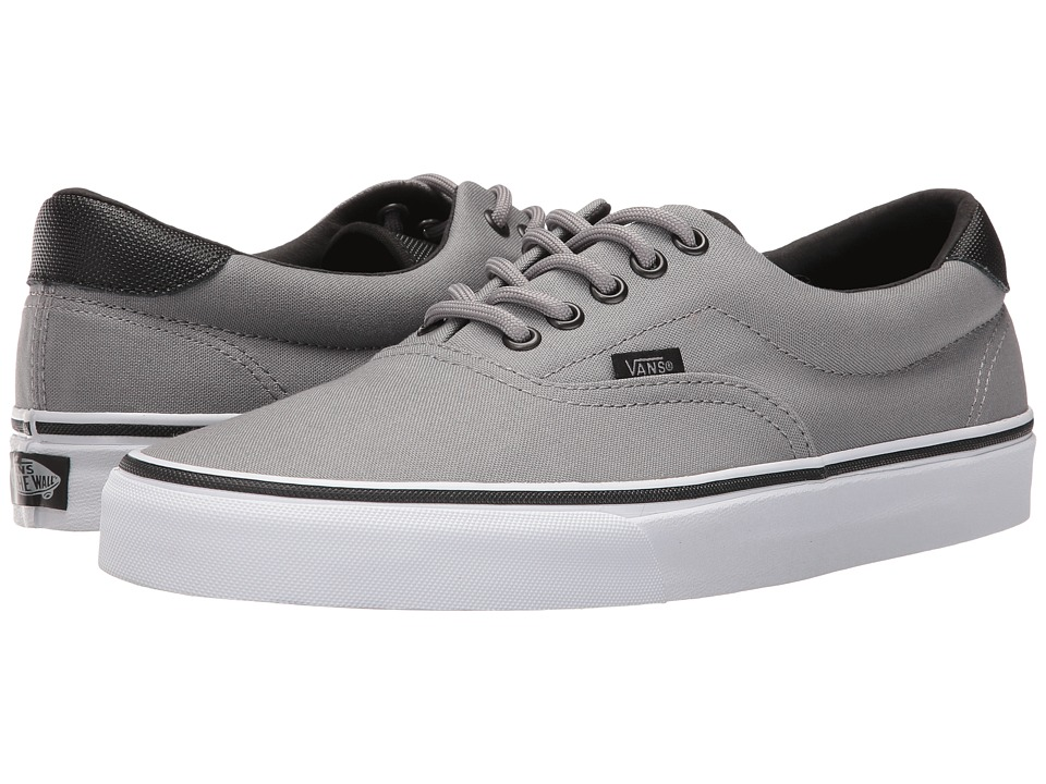 Vans Era 59 ((Canvas/Military) Frost Gray/White) Skate Shoes