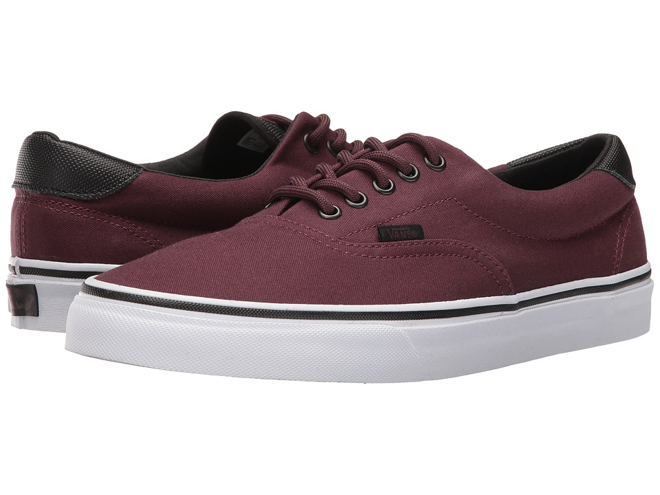 Vans Era 59 ((Canvas/Military) Iron Brown/White) Skate Shoes